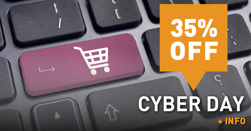 Cyber Day (35% off)