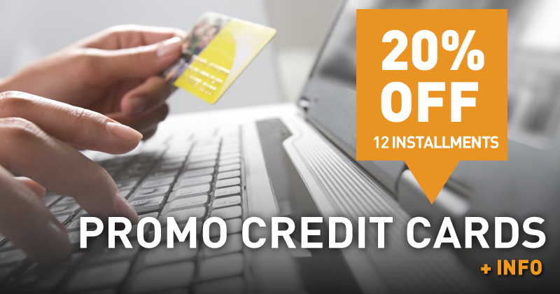 Promo Credit Card (20% off)