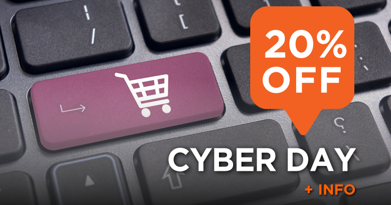 Cyber Day (20% off)